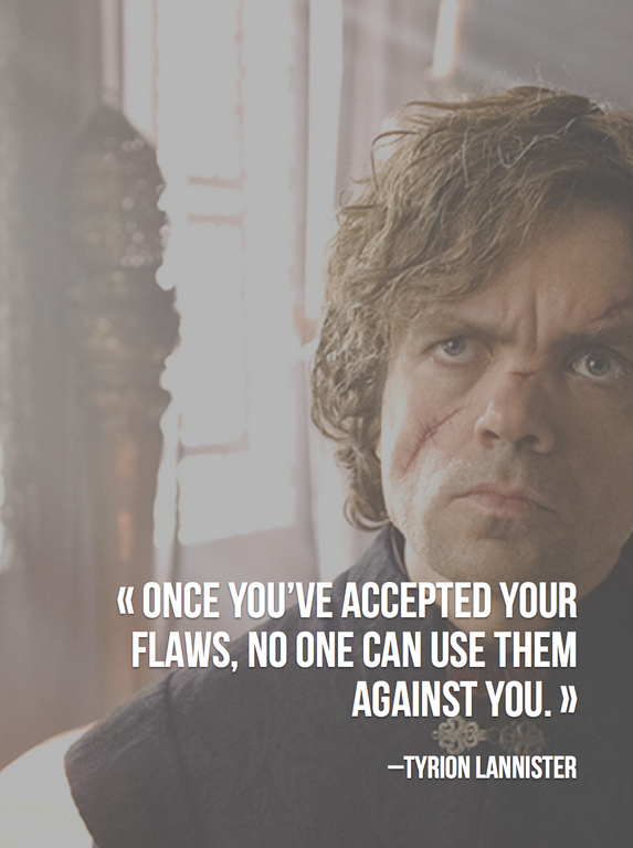 Peter Dinklage: Accept Your ShortComings And Move Ahead