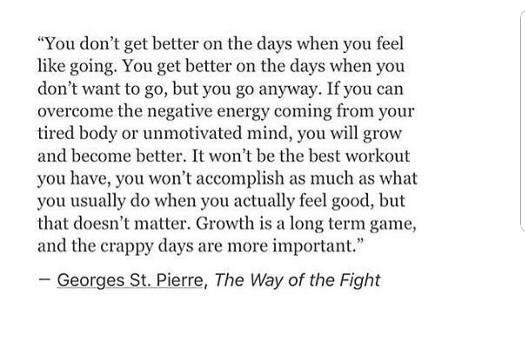 Don't Let The Hard Days Stop You